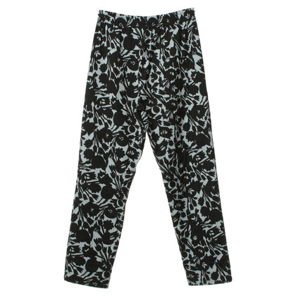 Odeeh Patterned pants with elastic