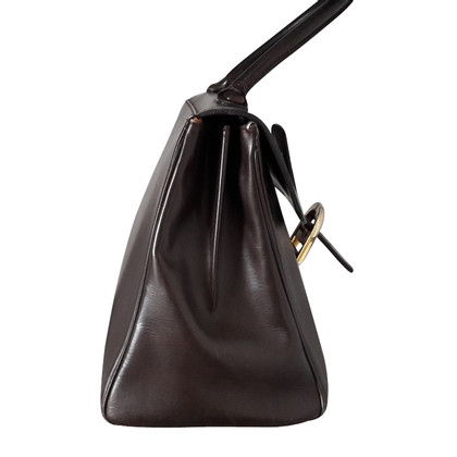 "Delvaux ""Brillant MM"" in dark brown"