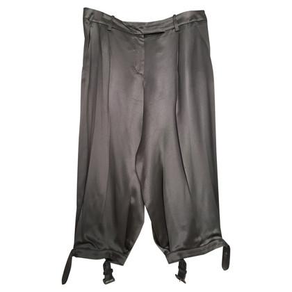 Alexander McQueen trousers made of silk