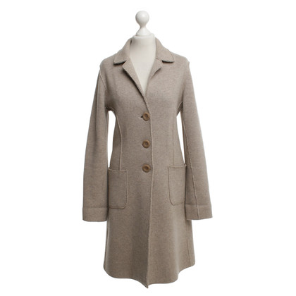 Other Designer For Friends Only - Knitted Coat in Beige
