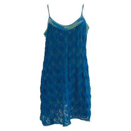 Missoni Missoni mare blu cotton dress