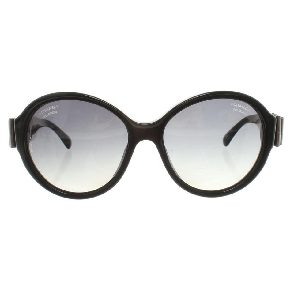 Chanel Sunglasses in black - Buy Second hand Chanel Sunglasses in ...