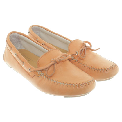 Santoni Mokassins in Apricot