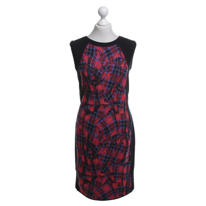 Marc Cain Wollen jurk met patroon