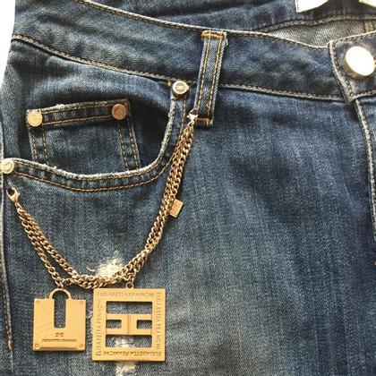 Elisabetta Franchi Boyfriend Jeans