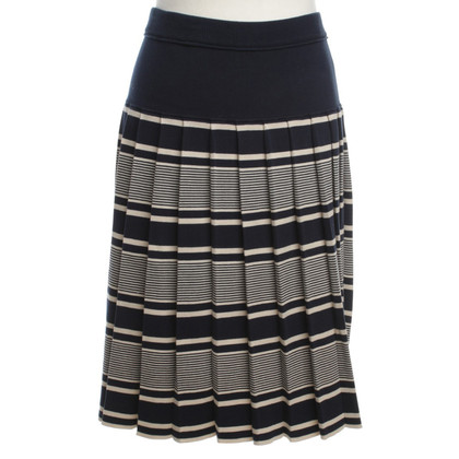 Tory Burch Knit skirt with stripes