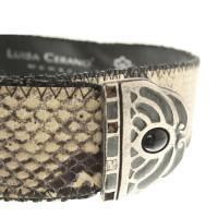 Luisa Cerano Cintura in ottica di rettili