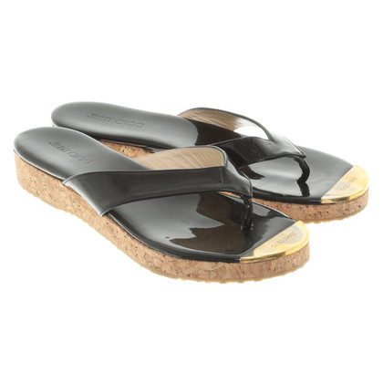 Jimmy Choo Sandals Patent Leather