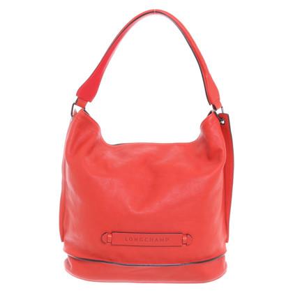 Longchamp Schoudertas in rood