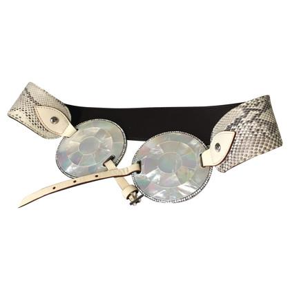 Valentino phyton belt