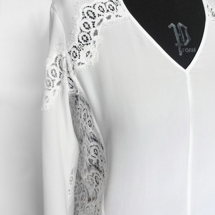 The Kooples Silk blouse in cream white