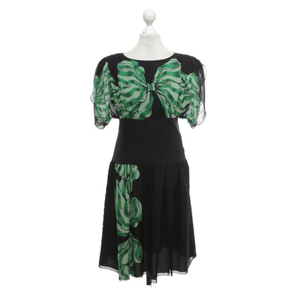 Anna Sui Dress with floral pattern