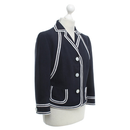 Rena Lange Blazer in dark blue / white