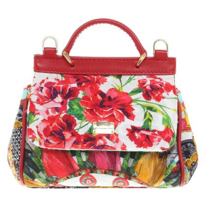 Dolce & Gabbana  Umhängetasche mit Muster