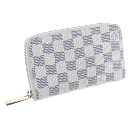 Louis Vuitton Damier Azur Canvas wallet