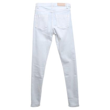 Victoria Beckham Skinny jeans in azzurro