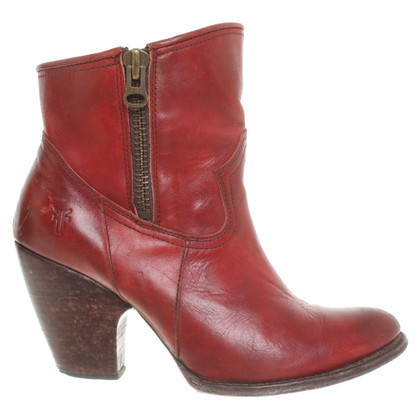 Frye Ankle boots in red