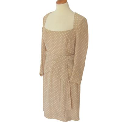 Prada Polka-dot silk dress