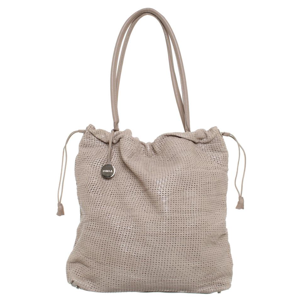 furla handtasche in beige second hand furla handtasche in beige gebraucht kaufen f r 100 00. Black Bedroom Furniture Sets. Home Design Ideas