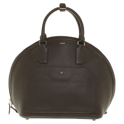 Bally Handtas in donkere taupe