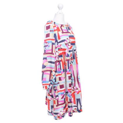 Chanel Jurk met kleurrijke patronen