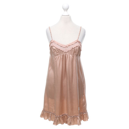 Odd Molly Silk dress in blush pink