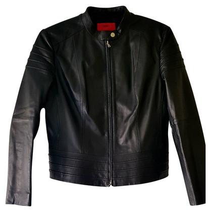 Hugo Boss giacca di pelle