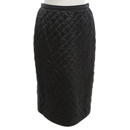 Valentino skirt with rhombic stitching