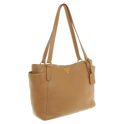 Prada Ochre leather bag