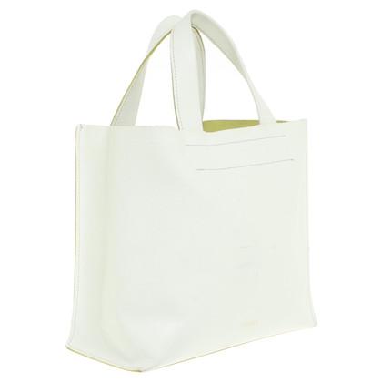 Furla Kleine Handtasche in Cremefarben