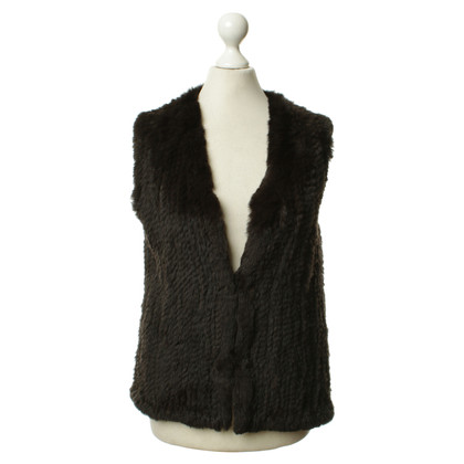 Other Designer Jaime Mascaro - fur vest in Brown