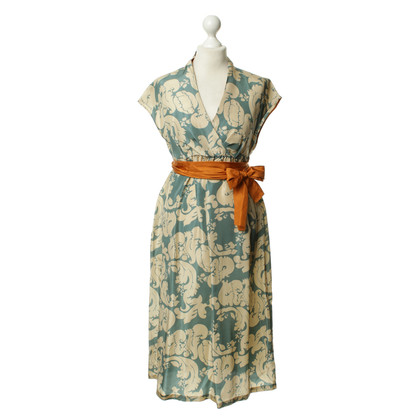 Hoss Intropia Silk dress with pattern