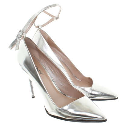DKNY Pumps in Silberfarben