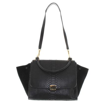 "Céline ""Trapeze Bag Medium"" with phyton leather"