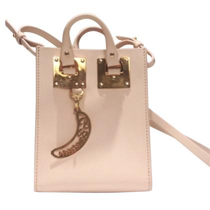 Sophie Hulme Shoulder bag in rose