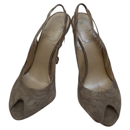 Christian Dior Slingback peep toes
