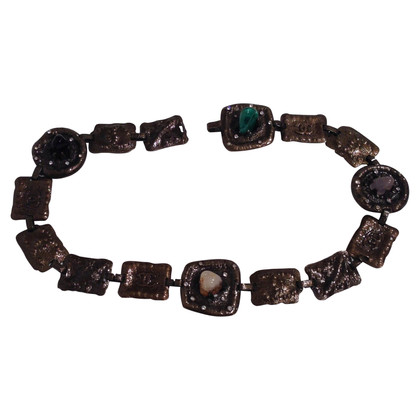 Chanel Chain belt with stones