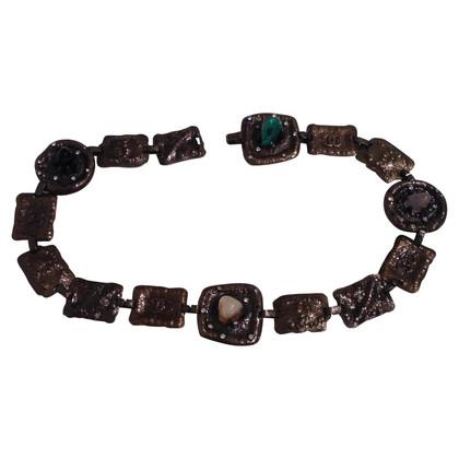 Chanel Kettengürtel mit Steinen