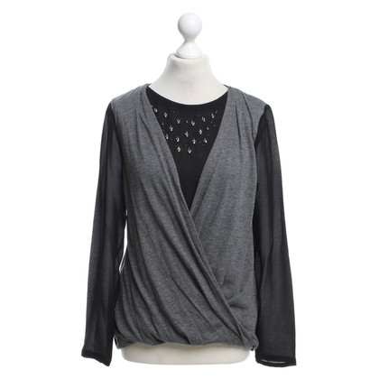 Vanessa Bruno top in black / grey