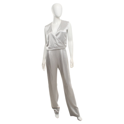 Talbot Runhof Jumpsuit in Silver / grey