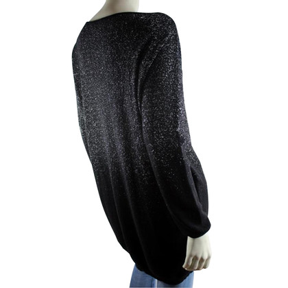 Stefanel Sweater in Silver / Black