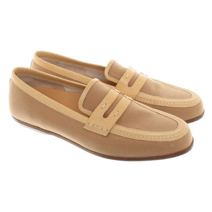 Hogan Camel-colored slippers