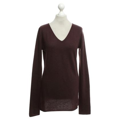 Dear Cashmere Cashmere sweater in Bordeaux
