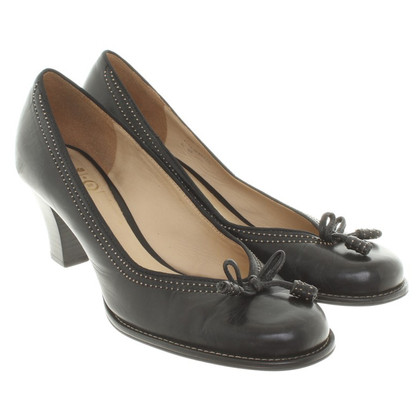 Clarks pumps pelle in nero
