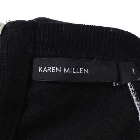 Freies Verschiffen Kaufen Karen Millen Pullover mit Raglanärmeln Schwarz / Weiß Freies Verschiffen 100% Authentisch Spielraum Visa Zahlung mCqwczRLK