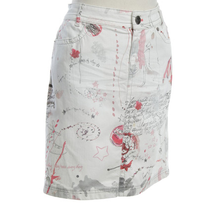 Marc Cain Jeans skirt in multicolor