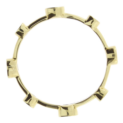 Damiani Yellow gold ring with diamonds
