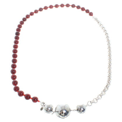 Furla Multicolour Pearl Necklace
