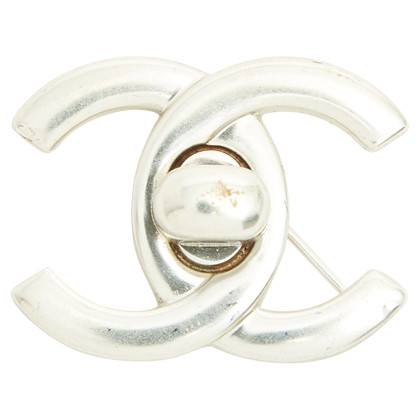 Chanel Button in logo form
