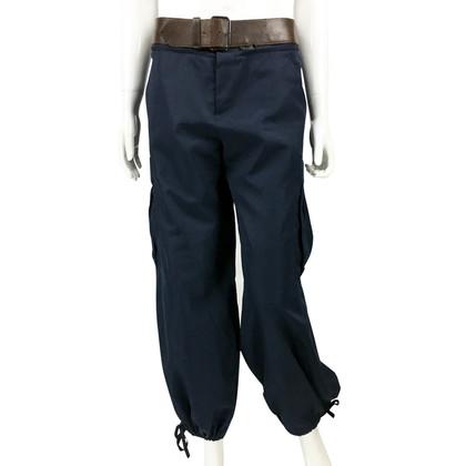 Jean Paul Gaultier Cargo Pants With Belt - 1990's